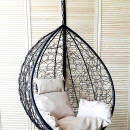Подвесные кресла - Подвесное кресло КАПЛЯ на стойке с подушкой, 0