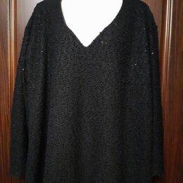 Блузки и кофточки - Блуза чёрная с пайетками, 0