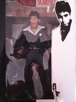 Фигурки и наборы - Al Pacino Scarface Tony Montana Экшн фигурка + DVD, 0