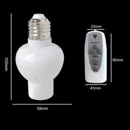 Настенно-потолочные светильники - Патрон Е27 для лампы с пультом ду и таймером выкл, 0