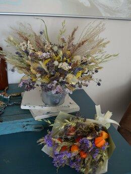 Дизайн, изготовление и реставрация товаров - Букеты из сухоцветов , 0