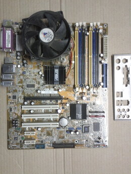 Материнские платы -  Asus P5GDC PRO  LGA775, 0