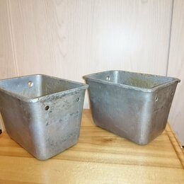 Посуда для выпечки и запекания - Форма для хлеба 10х14х10, алюминий, 2-шт, 0