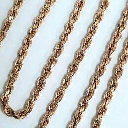 Цепи - Золотая цепь Веревка, 0