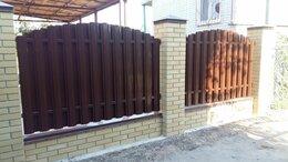 Заборы и ворота - Штакетник металлический для забора , 0