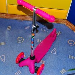 Самокаты - Самокат 3-х колесный Scooter оригинал, 0