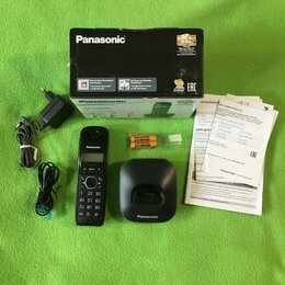Радиотелефоны - Телефон беспроводной (DECT) Panasonic KX-TG1611RUH, 0