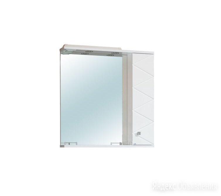 Зеркало-шкаф М-Классик Кристалл 80 см по цене 5100₽ - Шкафы, стенки, гарнитуры, фото 0