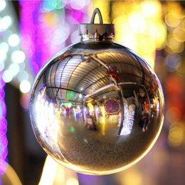 Новогодний декор и аксессуары - Шар 30 см (зеркальный), 0