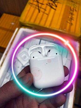 Наушники и Bluetooth-гарнитуры - AirPods 2 (новые, ростест + подарки), 0