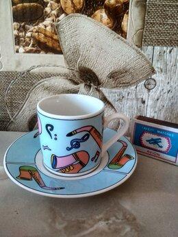 Кружки, блюдца и пары - Кофейные пары и для чая...к 8 марта  по 200рубл, 0