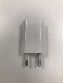 Зарядные устройства и адаптеры - Зарядное устройство Apple USB для iPhone оригинал, 0