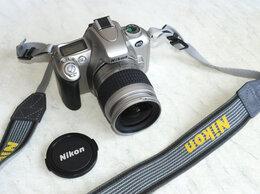 Пленочные фотоаппараты - НИКОН F55 зеркальный 35-мм фотоаппарат., 0