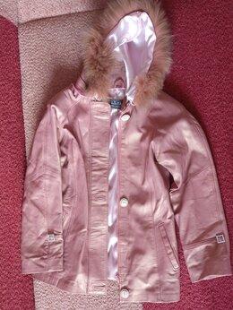 Куртки и пуховики - Английская куртка из натуральной кожи, 0