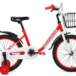 Трехколесные велосипеды - Детский велосипед Barrio 18 красный (2020), 0