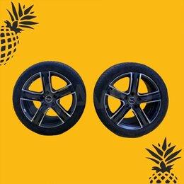 Шины, диски и комплектующие - Диски Mac R17 5x114 + Шины Michelin Primacy Hp R17, 0