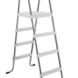 Лестницы и поручни - Лестница для сборного бассейна Azuro De Luxe, высота 1,2 м, 0