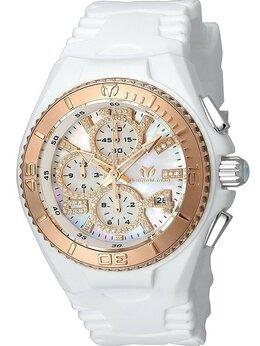 Наручные часы - Technomarine JellyFish бриллианты белые на розовом, 0