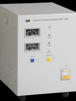 Стабилизаторы напряжения - Стабилизатор сни1-10 ква IEK, 0