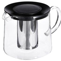 Заварочные чайники - Чайник БОЛЬШОЙ 1,5 литра со стаканом-фильтром, 0
