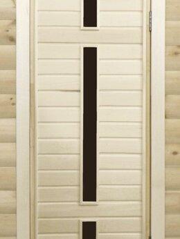 Двери - Банная дверь липа остекленная ПО-6, 0