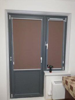 Римские и рулонные шторы - Рулонные шторы открытого типа., 0