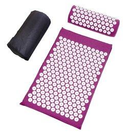Массажные матрасы и подушки - Акупунктурный набор (коврик+подушка) в чехле, 0
