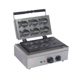 Сэндвичницы и приборы для выпечки - Вафельница Starfood 1620039 (печенье рыбки), 0