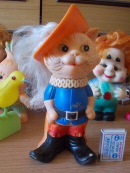 Куклы и пупсы - Игрушка резиновая, из СССР. КОТ в САПОГАХ, 0