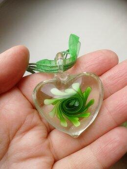 Кулоны и подвески - Ожерелье - кулон из муранского стекла Венеция, 0