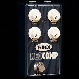 Гитарное усиление - Компрессия T-REX neocop, 0