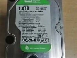 Внутренние жесткие диски - HDD 3,5 WesternDigital 1Tb Green, 0