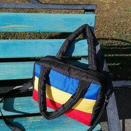 Сумки - Дутая цветная сумка , 0