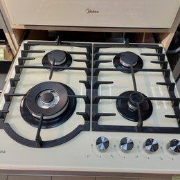 Плиты и варочные панели - Газовая варочная панель Midea MG696TGI, 0