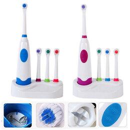 Электрические зубные щетки - Электрическая зубная щетка 4 насадки 16811-73 YZ-20, 0