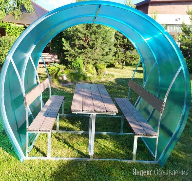 Новые садовые беседки  по цене 12025₽ - Комплекты садовой мебели, фото 0