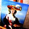 Юная художница, 50х60см, Картина маслом на холсте, художник по цене 6990₽ - Картины, постеры, гобелены, панно, фото 1