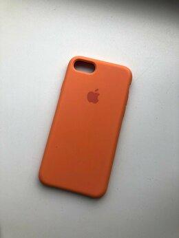 Чехлы - Оранжевый чехол Apple , 0
