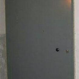 Входные двери - Установка стальных тамбурных дверей с глухими вставками в большие проемы, 0