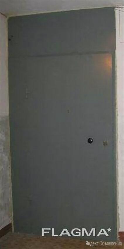 Установка стальных тамбурных дверей с глухими вставками в большие проемы по цене 5750₽ - Входные двери, фото 0