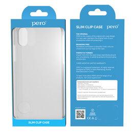 Чехлы - Чехол Pero для Honor 9A Silicone Clip Case Transparent CC01-H9ATR, 0