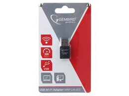 Оборудование Wi-Fi и Bluetooth - Адаптер Wi-Fi USB Gembird WNP-UA-005, 0