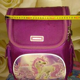 Рюкзаки, ранцы, сумки - Ранец, портфель, рюкзак для девочки начальных классов , 0