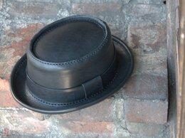 Головные уборы - Кожаная шляпа Pork Pie Hat (размер 56), 0
