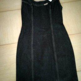 Платья - Новый фирменный джинсовый сарафан -футляр 28-30, 0
