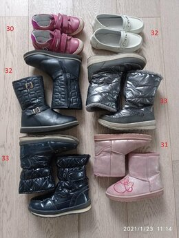 Балетки, туфли - 6 пар обуви для девочки,размер 31-33, 0