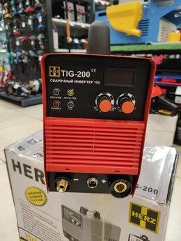 Сварочные аппараты - 📣🔥 Сварочный аппарат TIG HERZ TIG-200, 0