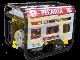 Электрогенераторы - Электрогенератор БГ 8000 Э Ресанта, 0