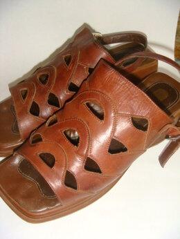 Босоножки - Босоножки кожа Румыния винтаж 90 х годов размер 37, 0