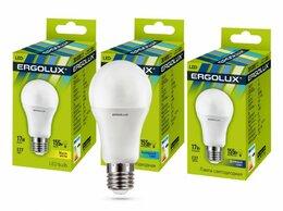 Лампочки - Светодиодная лампа E27 17W 4500K A60 Ergolux…, 0
